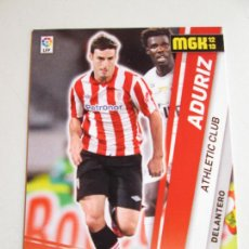 Cromos de Fútbol: #444 ADURIZ ATHLETIC CLUB BILBAO NUEVO FICHAJE MEGACRACKS 12 13 MEGA MGK LIGA 2012 2013. Lote 231800740