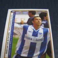 Cromos de Fútbol: NENE Y SANTAMARÍA (DEPORTIVO ALAVÉS) - Nº 700 - LAS FICHAS DE LA LIGA 2005 - MUNDICROMO.. Lote 212899083