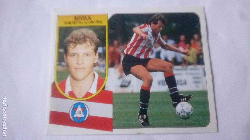 LIGA 91/92 AGUILA (BAJA) (Coleccionismo Deportivo - Álbumes y Cromos de Deportes - Cromos de Fútbol)