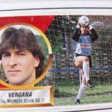 Figurine di Calcio: VERGARA MURCIA ESTE 1988 1989 CROMO FUTBOL LIGA 88 89. Lote 213165962