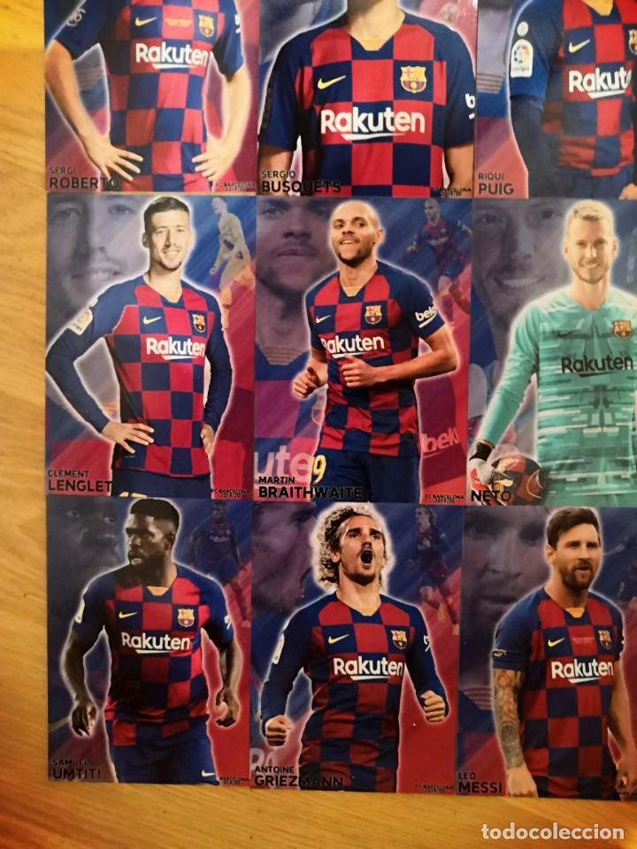 Cromos de Fútbol: COLECCION 22 CARDS FC BARCELONA 2019-2020 - Foto 4 - 213374582