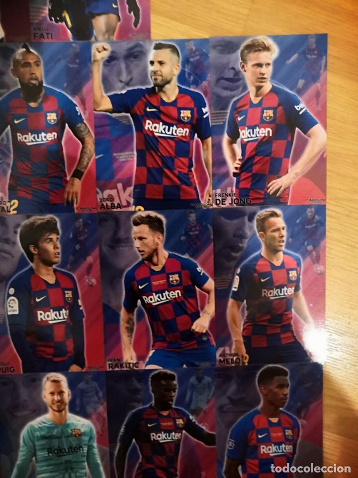 Cromos de Fútbol: COLECCION 22 CARDS FC BARCELONA 2019-2020 - Foto 7 - 213374582