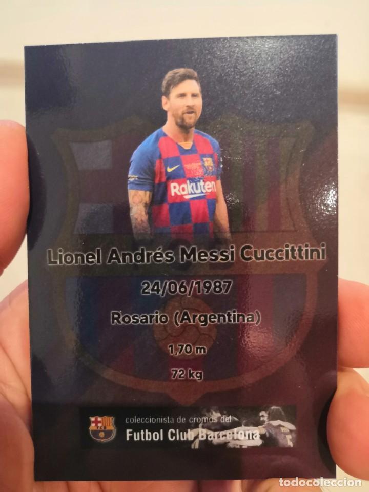 Cromos de Fútbol: COLECCION 22 CARDS FC BARCELONA 2019-2020 - Foto 9 - 213374582