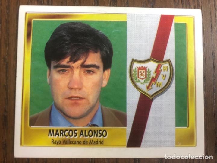 ESTE 95-96 MARCOS ALONSO COLOCA RAYO VALLECANO 1995-1996 NUNCA PEGADO SIN PEGAR (Coleccionismo Deportivo - Álbumes y Cromos de Deportes - Cromos de Fútbol)