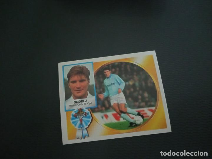 GUDELJ CELTA ESTE 1994 1995 CROMO FUTBOL LIGA 94 95 SIN PEGAR RF0 856 (Coleccionismo Deportivo - Álbumes y Cromos de Deportes - Cromos de Fútbol)