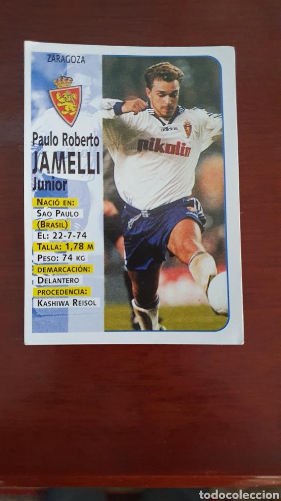 PANINI 98 99 JAMELLI 252 ZARAGOZA SIN PEGAR (Coleccionismo Deportivo - Álbumes y Cromos de Deportes - Cromos de Fútbol)