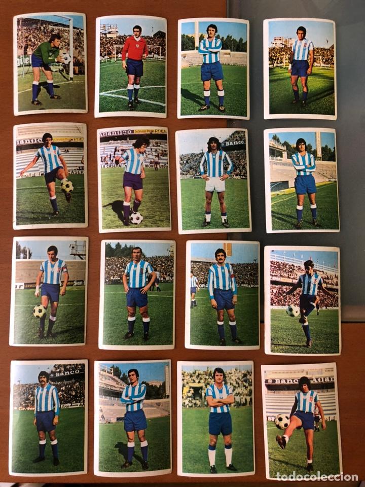 EQUIPO COMPLETO MÁLAGA 1975 1976 75 76 FHER, NO ESTE, SIN PEGAR (Coleccionismo Deportivo - Álbumes y Cromos de Deportes - Cromos de Fútbol)