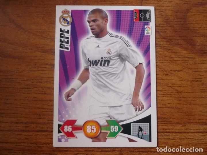 ADRENALYN XL 2009 2010 PANINI Nº 130 PEPE (REAL MADRID) - CROMO LIGA 09 10 (Coleccionismo Deportivo - Álbumes y Cromos de Deportes - Cromos de Fútbol)