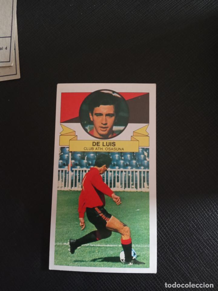 DE LUIS OSASUNA ESTE 1985 1986 CROMO FUTBOL LIGA 85 86 SIN PEGAR RF0 113 FICHAJE 4 (Coleccionismo Deportivo - Álbumes y Cromos de Deportes - Cromos de Fútbol)