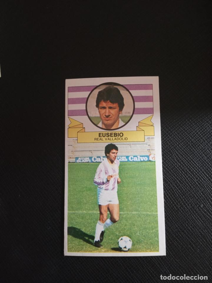 EUSEBIO VALLADOLID ESTE 1985 1986 CROMO FUTBOL LIGA 85 86 SIN PEGAR RF0 114 (Coleccionismo Deportivo - Álbumes y Cromos de Deportes - Cromos de Fútbol)