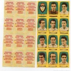 Cromos de Fútbol: JAEN 2ª DIVISIÓN, DE AZAFRANES MARI - SOL,1954-55, DE NOVELDA ALICANTE. Lote 213527896