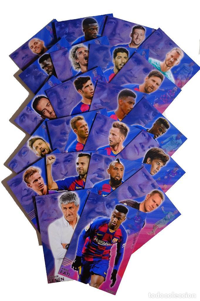 COLECCION 22 CARDS FC BARCELONA 2019-2020 (Coleccionismo Deportivo - Álbumes y Cromos de Deportes - Cromos de Fútbol)