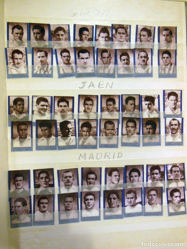 Cromos de Fútbol: Lote ORIGINAL 256 Cromos FUTBOL fotográficos LIGA 1ª DIVISIÓN TEMPORADA 1953/54. Completa 16 equipos - Foto 2 - 213571943