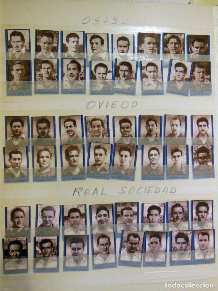 Cromos de Fútbol: Lote ORIGINAL 256 Cromos FUTBOL fotográficos LIGA 1ª DIVISIÓN TEMPORADA 1953/54. Completa 16 equipos - Foto 5 - 213571943