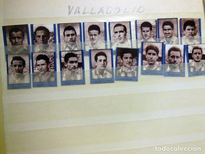 Cromos de Fútbol: Lote ORIGINAL 256 Cromos FUTBOL fotográficos LIGA 1ª DIVISIÓN TEMPORADA 1953/54. Completa 16 equipos - Foto 6 - 213571943