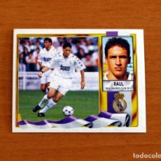 Cartes à collectionner de Football: REAL MADRID - RAÚL - EDICIONES ESTE 1995-1996, 95-96 - NUNCA PEGADO. Lote 213596203
