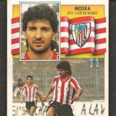 Cromos de Fútbol: ESTE 90 - 91. ATH. BILBAO. MOSKA. FICHAJE Nº 8. NO PEGADO. (P/C53). Lote 213619647
