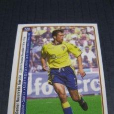 Cromos de Fútbol: NAVARRETE Y MANOLO PÉREZ (CÁDIZ C.F.) - Nº 726 - LAS FICHAS DE LA LIGA 2005 - MUNDICROMO.. Lote 213710808