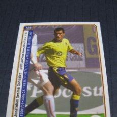 Cromos de Fútbol: JONATHAN Y PAVONI (CÁDIZ C.F.) - Nº 728 - LAS FICHAS DE LA LIGA 2005 - MUNDICROMO.. Lote 213712473
