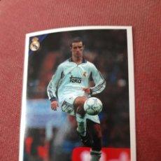 Cromos de Fútbol: 84 HELGUERA CROMOS COLECCION REAL MADRID 00 01 2000 2001 PANINI. Lote 213738058
