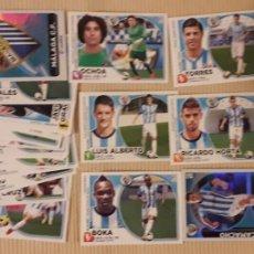 Cromos de Fútbol: MÁLAGA C.F. LOTE 28 CROMOS DIFERENTES CON COLOCAS Y FICHAJES LIGA 14-15 2014 2015 ÁLBUM ESTE PANINI. Lote 213738110