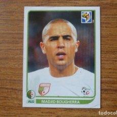 Cromos de Fútbol: 2010 FIFA WORLD CUP SOUTH AFRICA PANINI Nº 226 MADJID BOUGHERRA (ARGELIA) - CROMO FUTBOL MUNDIAL 10. Lote 213738120
