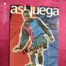 Cromos de Fútbol: ASI JUEGA. OKUNOWO. Nº 239. 100 AÑOS F.C. BARCELONA. 1899-1999. PANINI. Lote 213738128