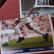 Cromos de Fútbol: MCMANAMAN CROMOS COLECCION REAL MADRID 00 01 2000 2001 PANINIB106. Lote 213738183