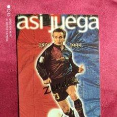 Cromos de Fútbol: ASI JUEGA. ZENDEN. Nº 240. 100 AÑOS F.C. BARCELONA. 1899-1999. PANINI. Lote 213738196