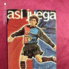 Cromos de Fútbol: ASI JUEGA. ROGER. Nº 241. 100 AÑOS F.C. BARCELONA. 1899-1999. PANINI. Lote 213738218