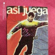 Cromos de Fútbol: ASI JUEGA. BUSQUETS. Nº 243. 100 AÑOS F.C. BARCELONA. 1899-1999. PANINI. Lote 213738307