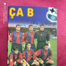 Cromos de Fútbol: ASI JUEGA. BARÇA B. Nº 246. 100 AÑOS F.C. BARCELONA. 1899-1999. PANINI. Lote 213738431