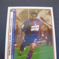 Cromos de Fútbol: CIFUENTES Y FAGOAGA (S.D. EIBAR) - Nº 750 - LAS FICHAS DE LA LIGA 2005 - MUNDICROMO.. Lote 213786571