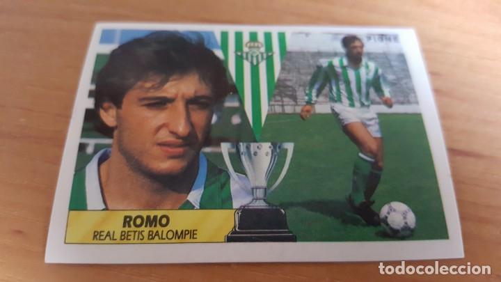CROMO ALBUM ESTE 87 88 1987 1988 ROMO BETIS . SIN PEGAR (Coleccionismo Deportivo - Álbumes y Cromos de Deportes - Cromos de Fútbol)