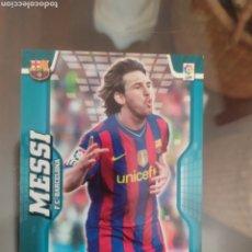 Cartes à collectionner de Football: CROMO MESSI MGK MEGA CRACKS 2009 2010 09 10 MEGA BOMBERS 397. Lote 213893690