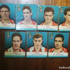 Cromos de Fútbol: ATLÉTICO DE MADRID - CAMPEONES BRUGUERA 57/58 1957/58 - 7 CROMOS SIN PEGAR ( TRES SIN NUMERAR). Lote 213985975