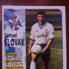 Cromos de Fútbol: PANINI 98 99 SLOVAK 306 TENERIFE SIN PEGAR. Lote 213991122