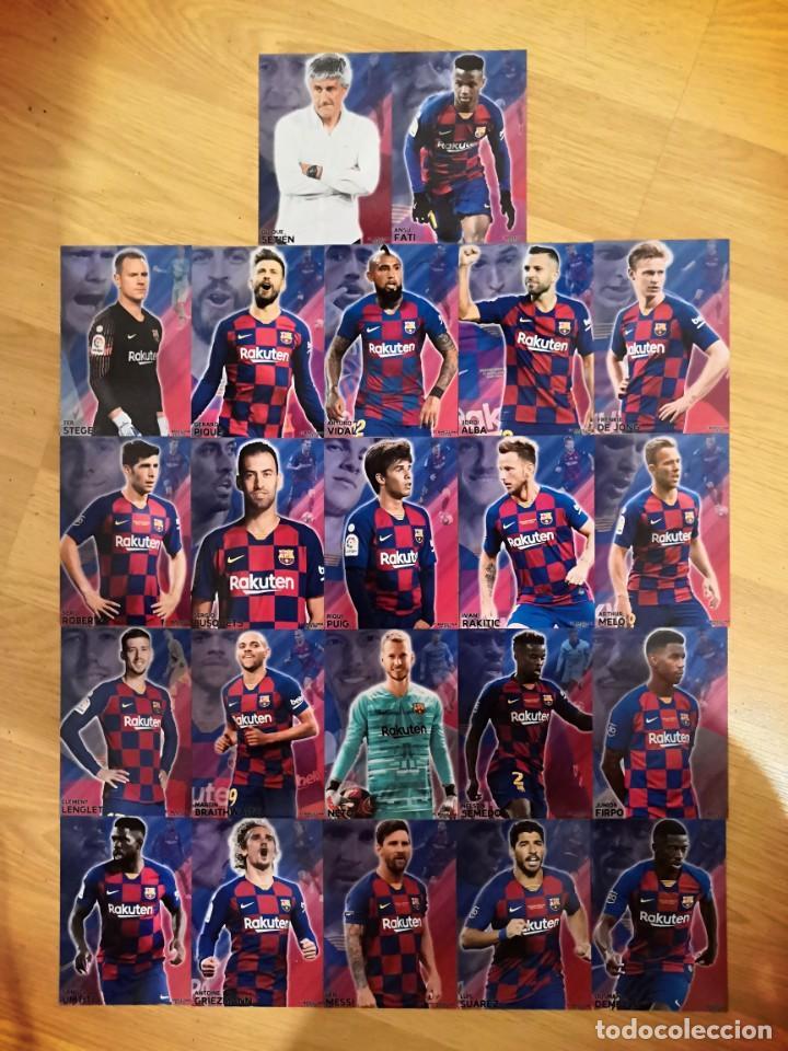 Cromos de Fútbol: COLECCION 22 CARDS FC BARCELONA 2019-2020 - Foto 2 - 213995258