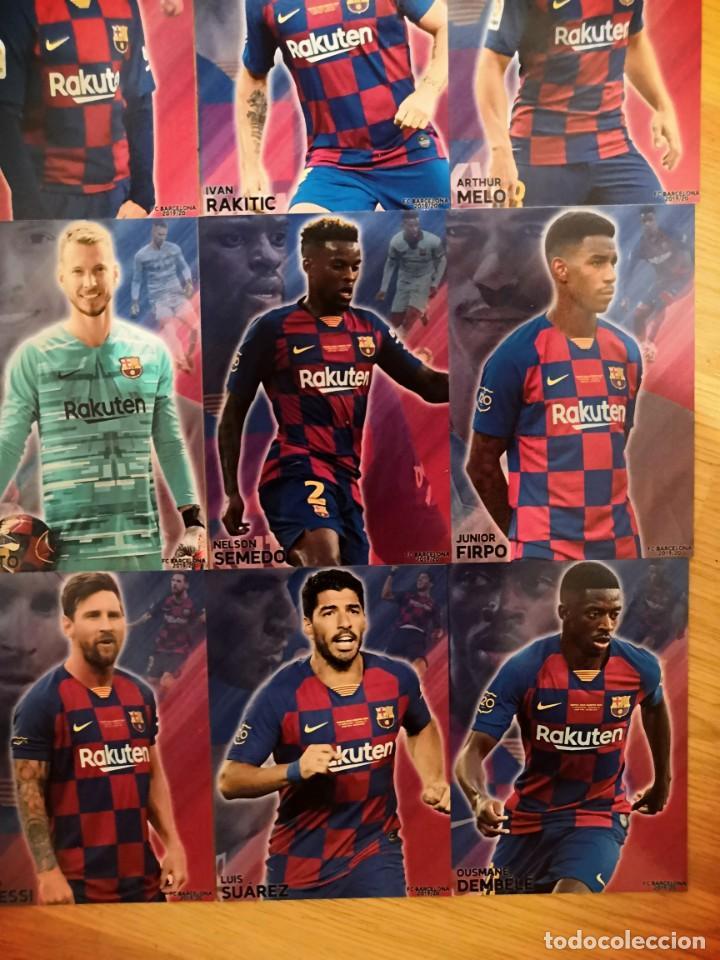 Cromos de Fútbol: COLECCION 22 CARDS FC BARCELONA 2019-2020 - Foto 3 - 213995258