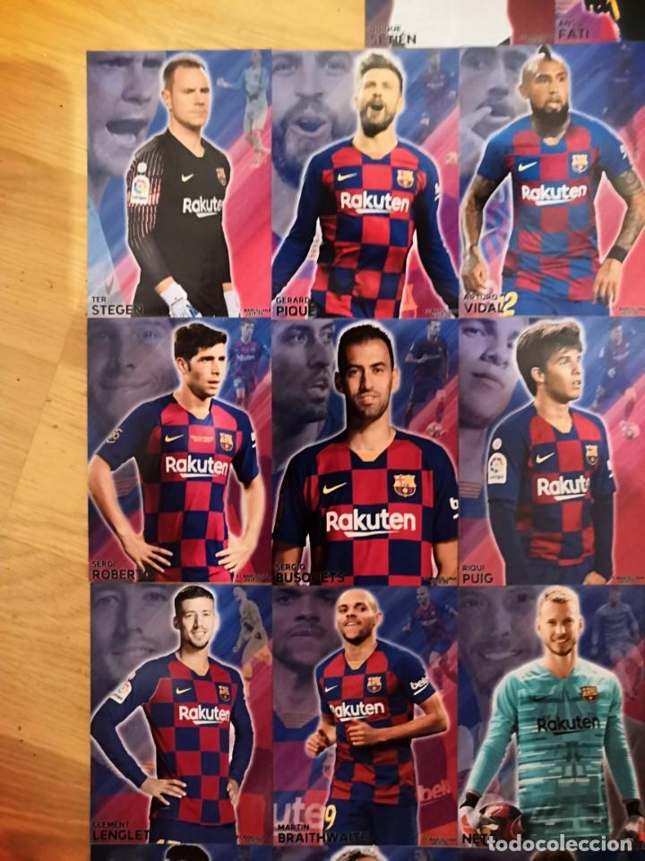 Cromos de Fútbol: COLECCION 22 CARDS FC BARCELONA 2019-2020 - Foto 5 - 213995258