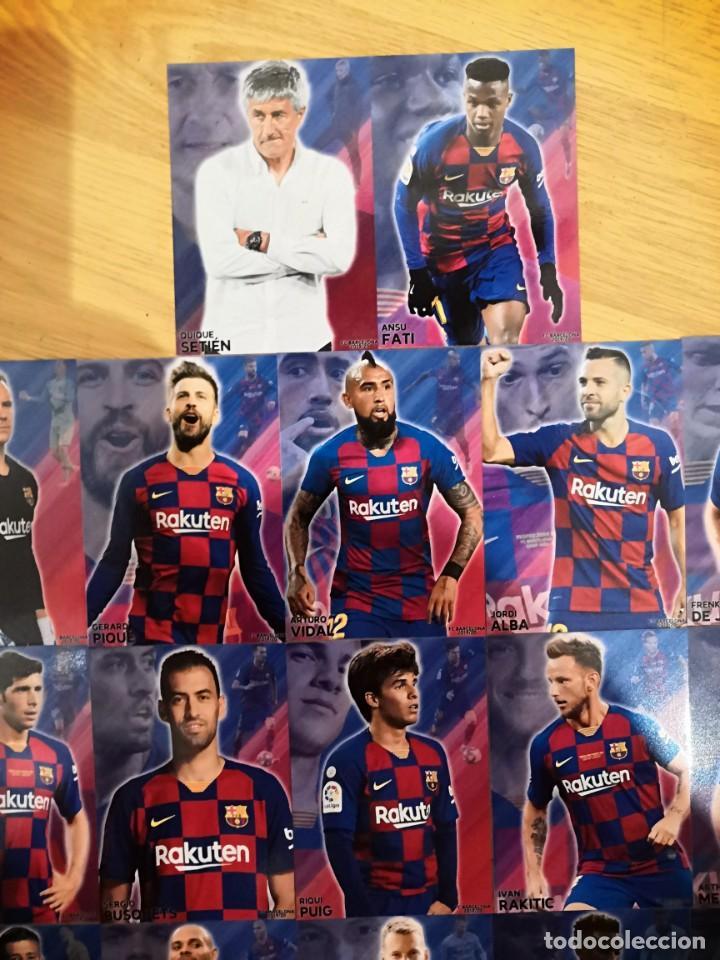 Cromos de Fútbol: COLECCION 22 CARDS FC BARCELONA 2019-2020 - Foto 6 - 213995258
