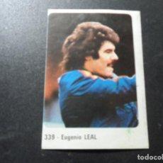 Cromos de Fútbol: EUGENIO LEAL SELECCION ESPAÑOLA Y ATLETICO MADRID CROMO CROM PANINI LIGA 1979-1980 79-80. Lote 214010686