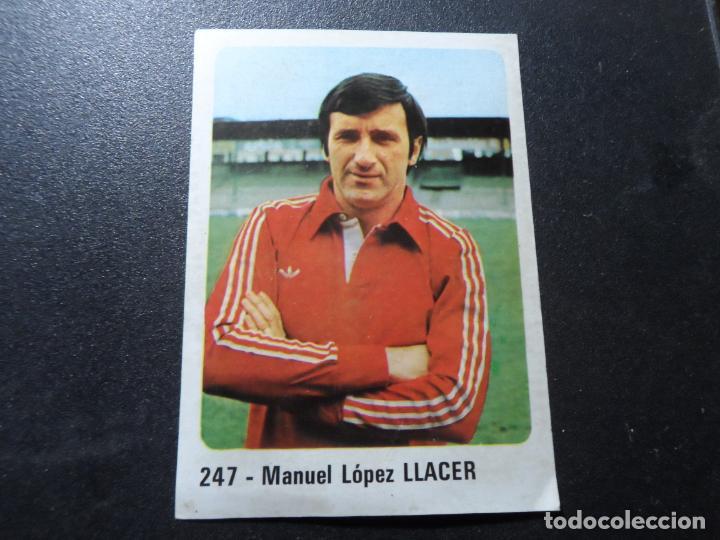 LLACER DEL VALLADOLID 247 CROMO CROM PANINI LIGA 1979-1980 79-80 (Coleccionismo Deportivo - Álbumes y Cromos de Deportes - Cromos de Fútbol)