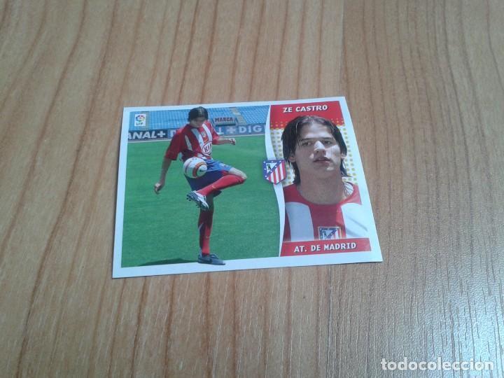 ZE CASTRO -- ATLÉTICO MADRID -- 06/07 -- ESTE -- RECORTADO (Coleccionismo Deportivo - Álbumes y Cromos de Deportes - Cromos de Fútbol)