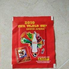 Cromos de Fútbol: SOBRE SIN ABRIR COCA COLA MUNDIAL 2010 DE SUDÁFRICA. Lote 214011182