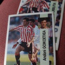 Cromos de Fútbol: GOICOECHEA 199 ATHLETIC DE BILBAO ESTE 96 97 1996 1997 PANINI SIN PEGAR. Lote 214043616