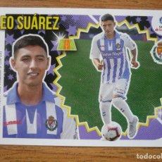 Cromos de Fútbol: ESTE 2018 2019 PANINI 11 BIS LEO SUAREZ (VALLADOLID) COLOCA - SIN PEGAR - CROMO FUTBOL LIGA 18 19. Lote 214043932