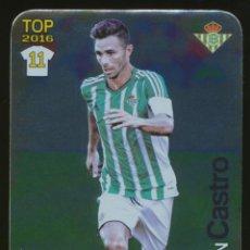 Cromos de Fútbol: #666. RUBEN CASTRO (TOP BRILLO LISO) - REAL BETIS 2015/2016 - MUNDICROMO LIGA CARD/CROMO 15/16. Lote 214118218