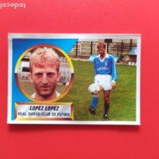 Cromos de Fútbol: LIGA ESTE 1988 1989 / 88 89 - LÓPEZ LÓPEZ (OVIEDO) - COLOCA NUNCA PEGADO (SIN PEGAR). Lote 214120413