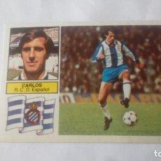 Cromos de Fútbol: LIGA 82/83 CARLOS NUNCA PEGADO. Lote 214128397